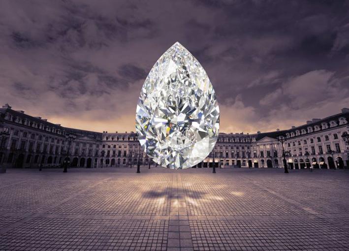 Graff, a super pear in Paris
