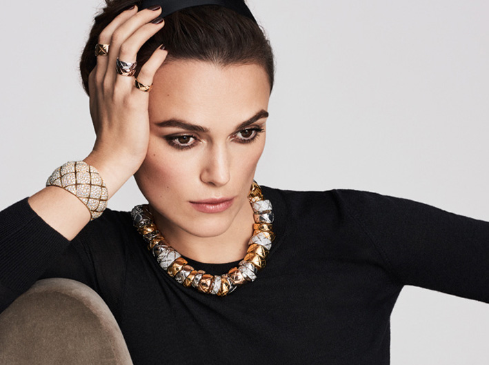 The look of Keira Knightley with Chanel