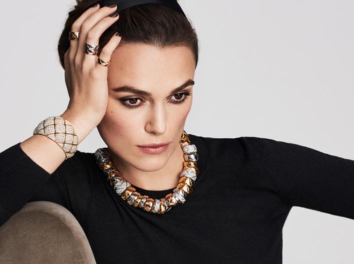 Il volto di Keira Knightley per Chanel