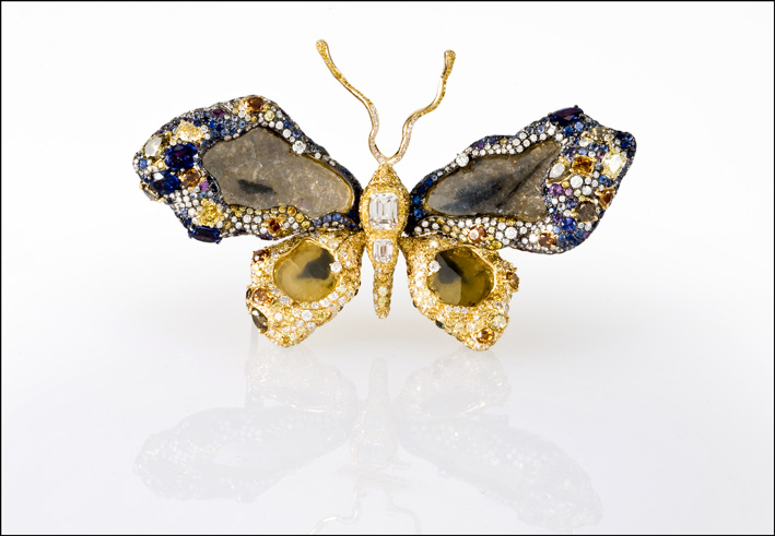 Royal Butterfly, spilla