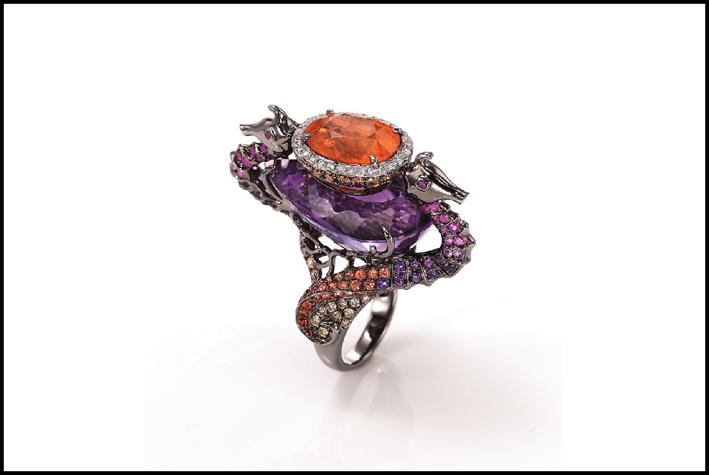 Anello della collezione Luscious Shrine