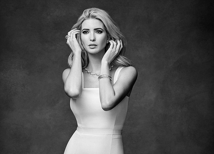 Ivanka Trump ritratta da Abbey Drucker