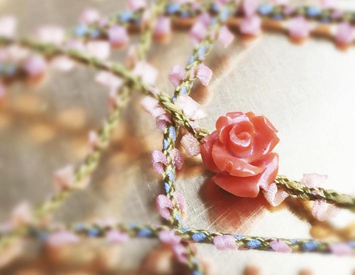 Bracciali Rose Corail