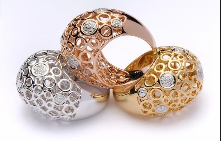 Collezione Worlds, anelli