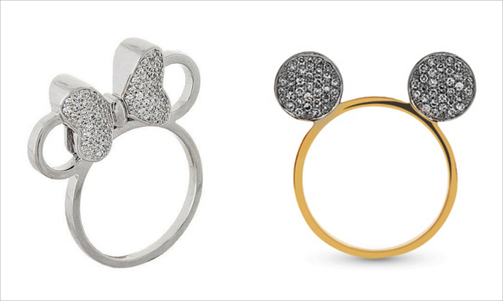 Magical Vangold Jewelry for Disney Russia, ispirati a Mickey Mouse