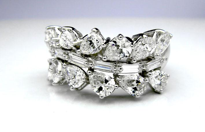 Anversa: anello con diamanti