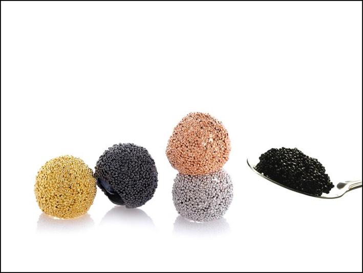 Collezione Caviar, anelli
