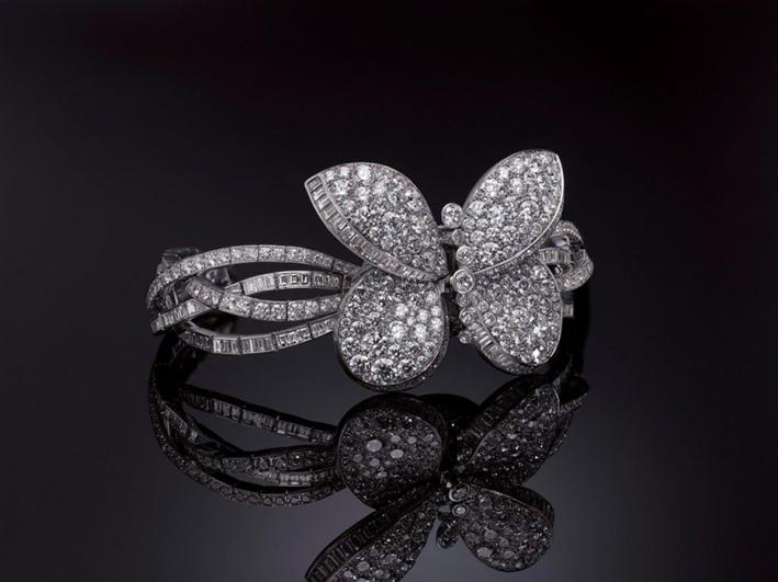 Princess Butterfly versione diamanti bianchi
