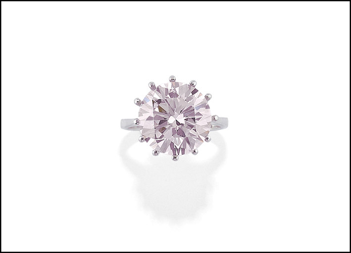Il diamante very light pink. Venduto per 700.000 euro