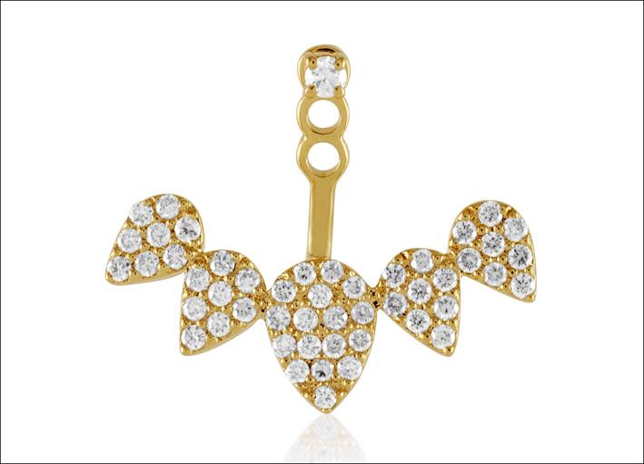 Collezione Di Moi Oui. Orecchino in oro e diamanti. Prezzo (uno): 2245 dollari