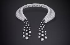 Collezione Folies, collier con diamanti bianchi e neri