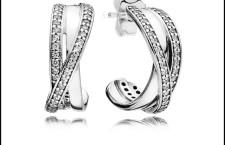 Orecchini in argento Pandora