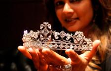 La tiara progettata per Asscher (dal sito di Reena Ahluwalia)
