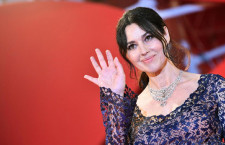 Monica Bellucci con il collier di Cartier