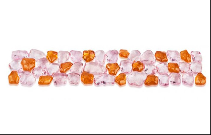 Granato mandarino e morganite