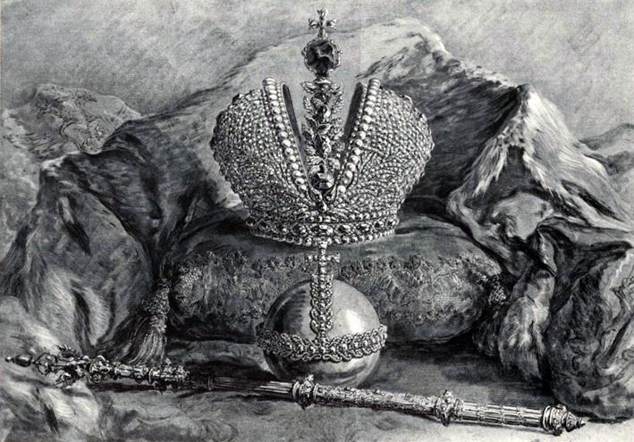 I gioielli della corona dei Romanov