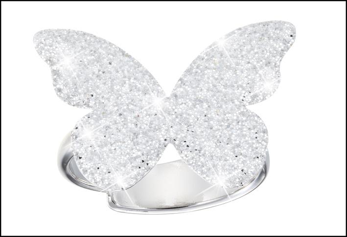 Anello con farfalla della collezione Petite