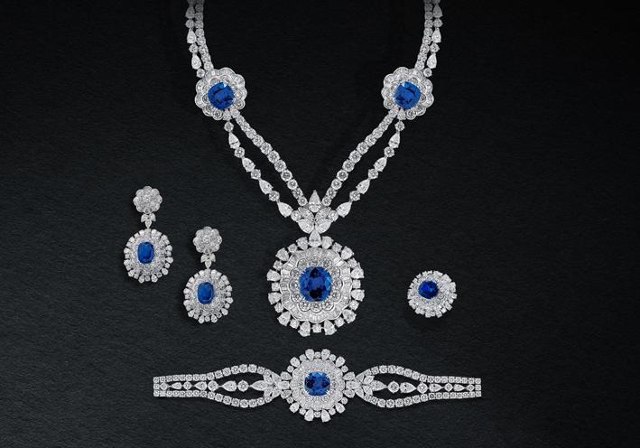 Suite Grand Orion, di diamanti e zaffiri