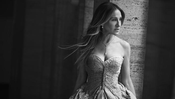 Sarah Jessica Parker fotografata da Peter Lindbergh