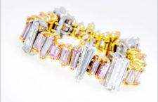 Anello con diamanti baguette