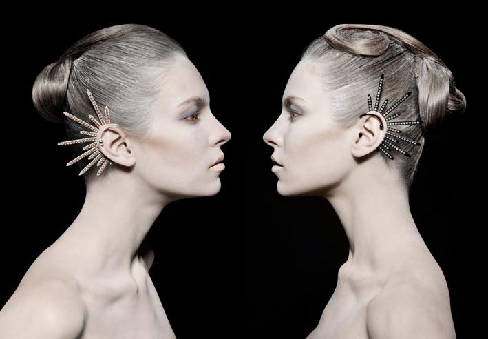 Athomie, collezione Contemporary Icon, earcuff