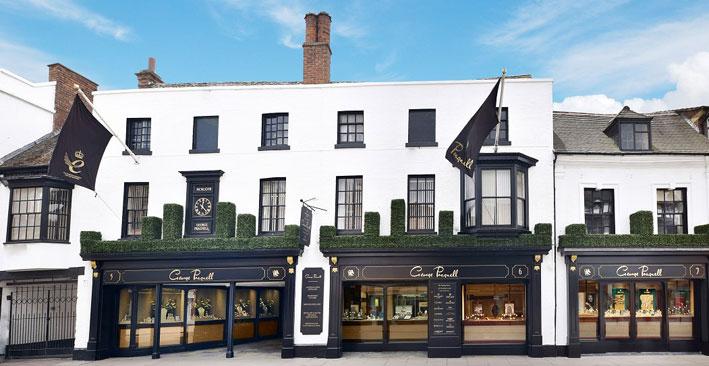 La gioielleria Pragnell a Stratford-upon-Avon