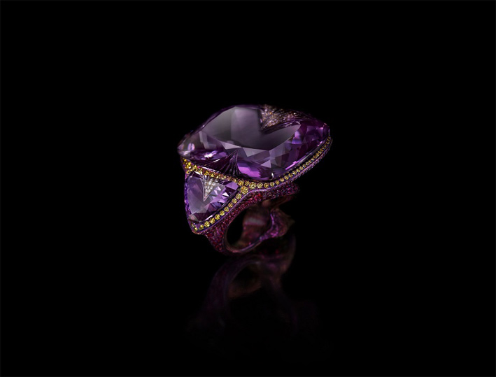Anello Ring of Night di Wallace Chan