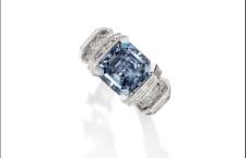 The Sky Blue Diamond, 8.01 carati