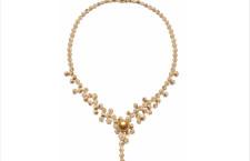 Collana Illusion, con oro, perle dei Mari del Sud, diamanti. Prezzo: 62.000 dollari
