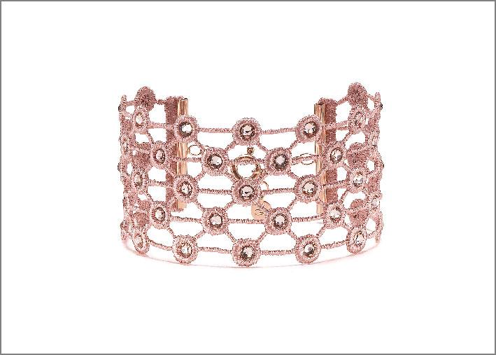 Bracciale Diadema rosa antico. Prezzo: 79 euro