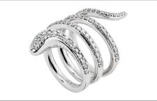 Damiani, anello in oro bianco e diamanti. Prezzo: 5790 euro