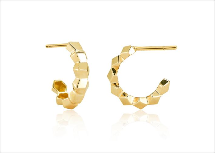 Orecchini in oro giallo 18 carati