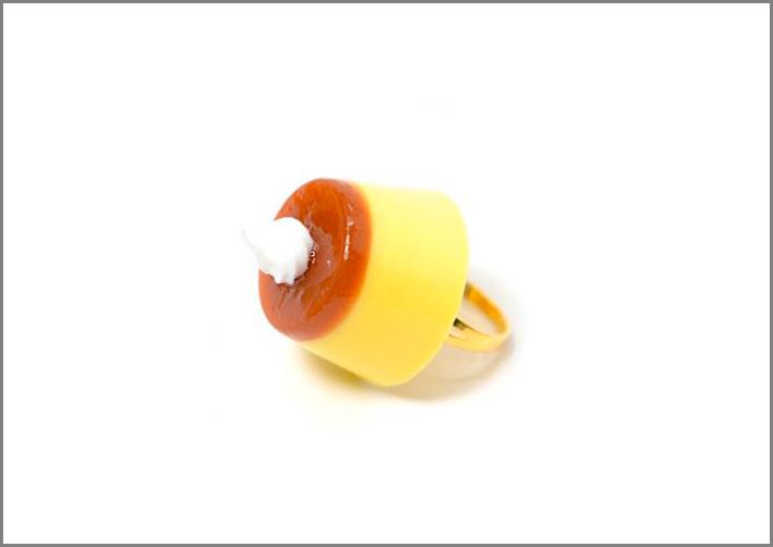 Anello crème caramel