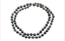 Mulrifilo con perle nere di Thaiti