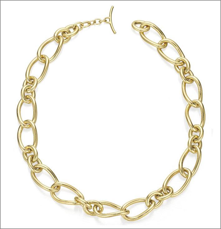 Collezione Contessa, collana in oro giallo