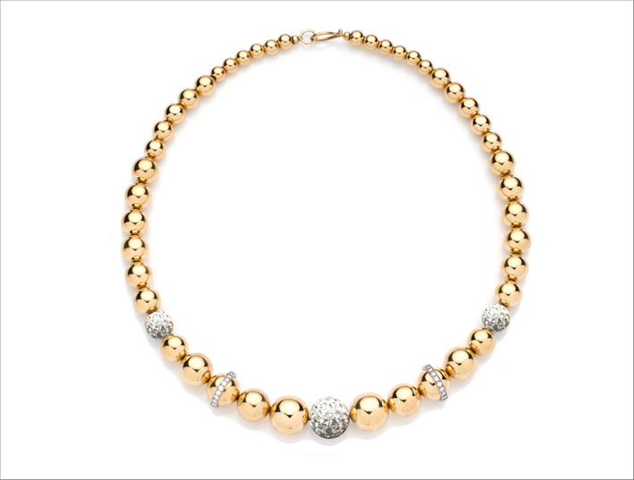 Collezione Barbarella, collana in oro rosa e diamanti. Prezzo: 32500 dollari