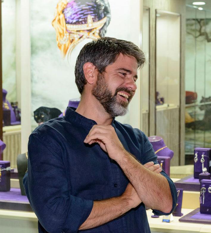 Daniel Calvo, designer di Magerit