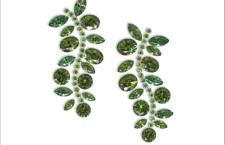 Una varietà verde della andradite, minerale che è uno delle più preziose varietà del granato Demantoide