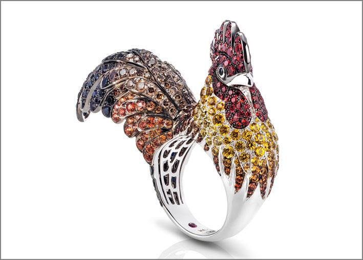 Roberto Coin, anello per l'anno del Gallo