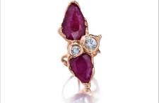 Anello con rubini e diamanti di Lucifero vir Honestus