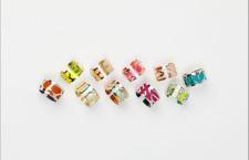 Gli anelli con colori intercambiabili, collezione 2017