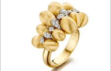 Nanis, anello in oro e diamanti della collezione Trasformista