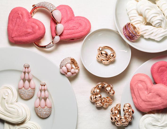 De Grisogono, orecchini, bracciale e anello India