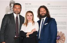 Da sinistra, Giorgio Damiani, Silvia Damiani e Guido Grassi Damiani