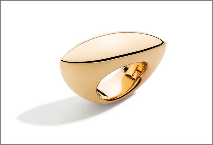 Vhernier, anello Fuseau in oro giallo