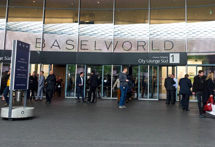 Ingresso di Baselworld