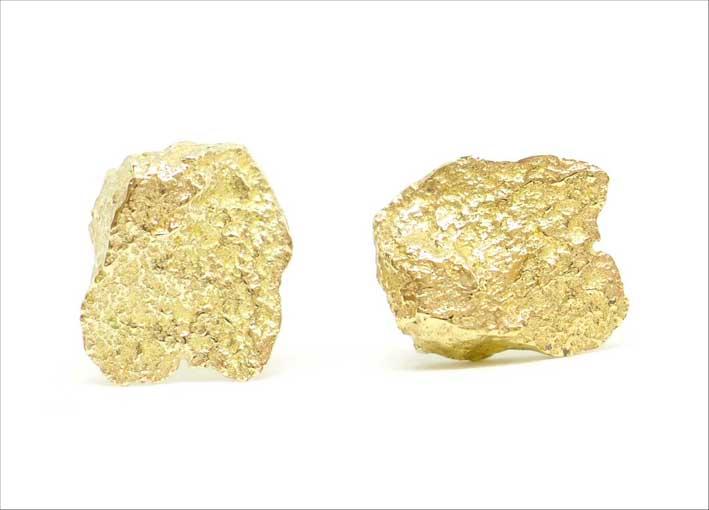 Orecchini Ides in oro 9 carati