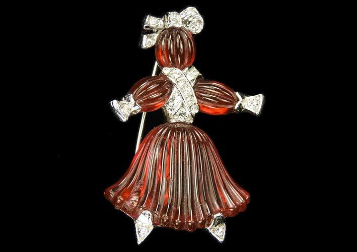 Spilla Ruby Girl Rag Doll
