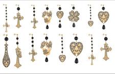 Orecchini della collezione Gotico Romantico. Da 140 a 200 euro