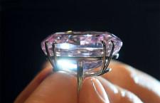 Il diamante Pink Star, estratto in Sudafrica nel 1999